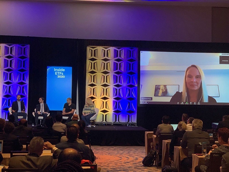 Kristen Schmidt of RIA Oasis, LLC becomes first virtual panelist at InsideETF's National Conference